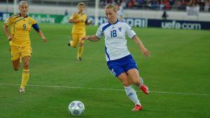 Linda Sällström, EM 2009.