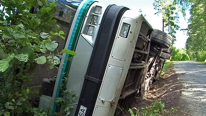 Minst 14 doda i bussolycka i kroatien
