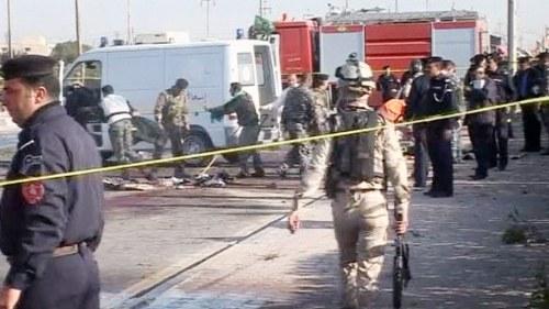 Bomber mot pilgrimer i irak