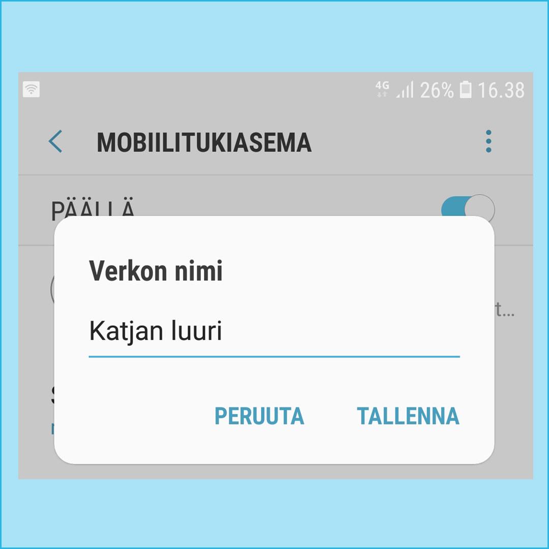 Puhelimen Wifi Salasana