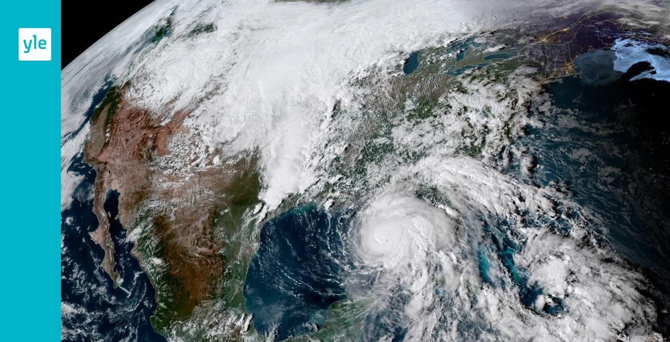 Orkanen Michael Samlar Kraft Over Mexikanska Golfen Nar