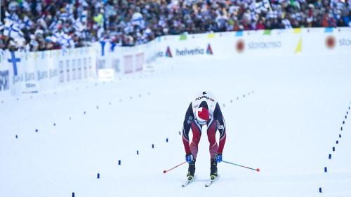 Ryssen sergej ustiugov tog vm guld i skiathlon