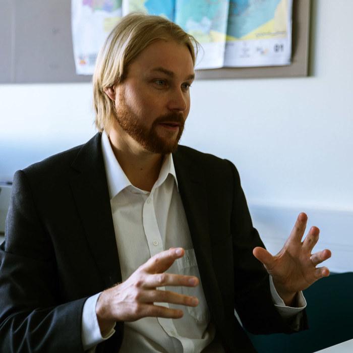 Vice-Professor Markus Kröger, HU