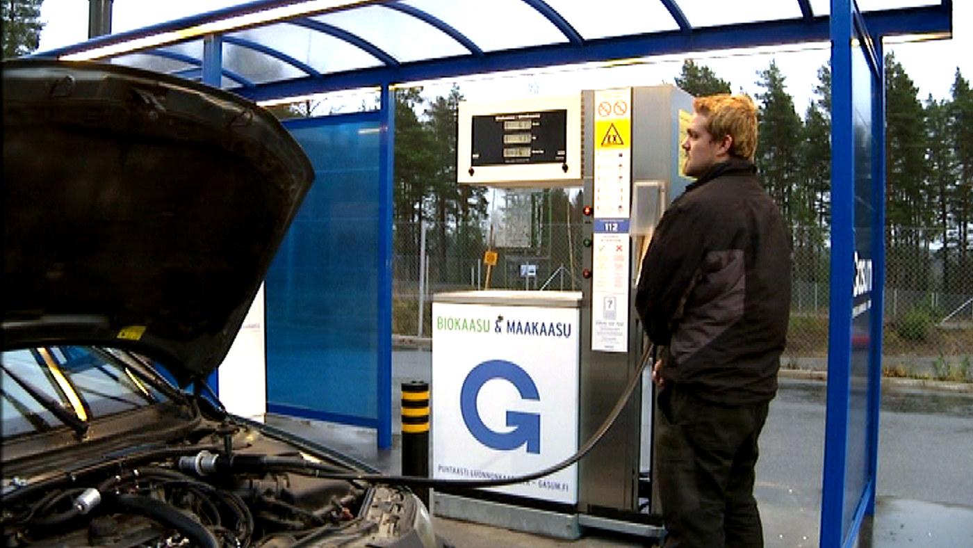 Bensa-Auton Muuttaminen Kaasuautoksi