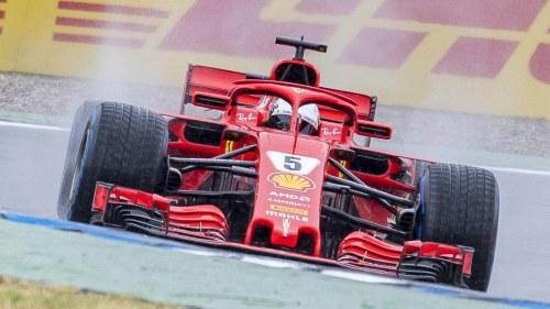 Vettel snabb infor f1 avgorande
