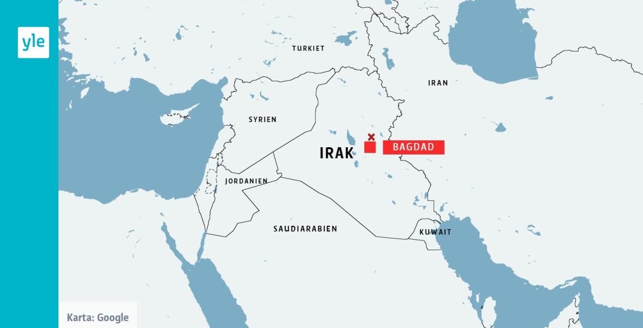 Uppgifter Om Ytterligare En Raketattack Mot Irakisk Militarbas