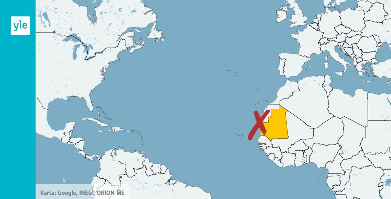 Omkring 60 Migranter Drunknade Utanfor Mauretaniens Kust Utrikes