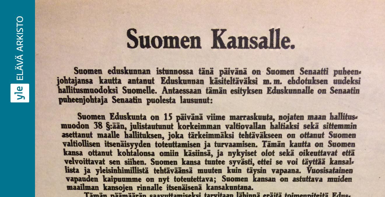 Suomen Itsenäisyysjulistus