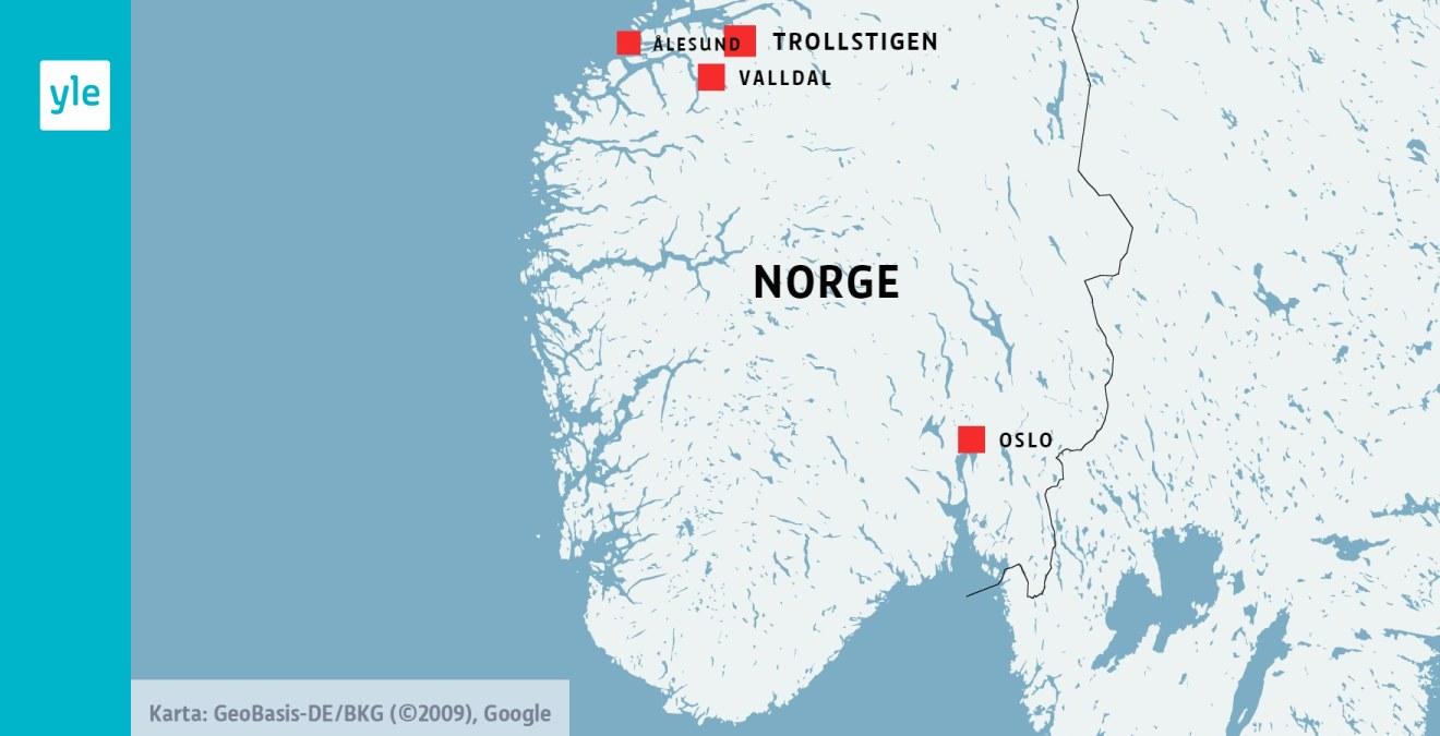 En Dod I Olycka Med Turistbuss I Norge Utrikes Svenska Yle Fi