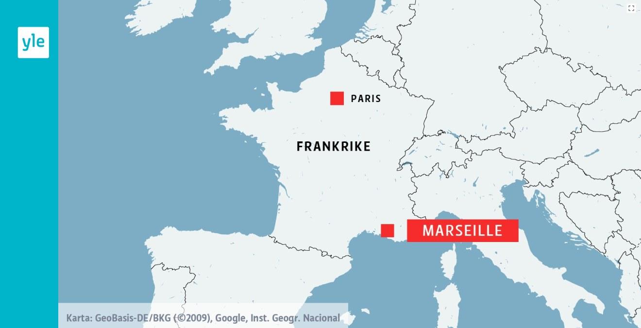 Amerikanska Kvinnor Attackerades Med Syra I Marseille Utrikes