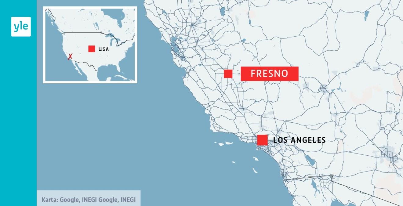Skottlossning Vid Tradgardsfest I Kalifornien 4 Doda Utrikes