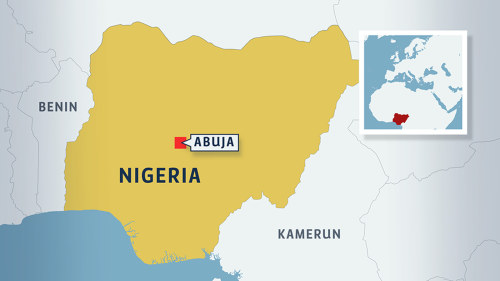 Rebeller kidnappade nio personer i nigeria