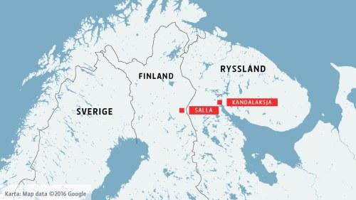 Karta Finland Ryssland Karta 2020