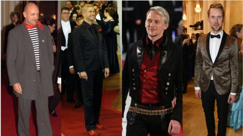 dcc7da34ad29 Här är herrarna som trotsat klädkoden på slottet | Slottsbalen ...