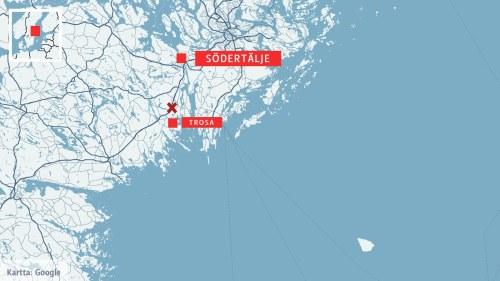 Karta Tyskland Tag.Sverige Tag Sparade Ur Efter Krock Med Stridsvagn Utrikes