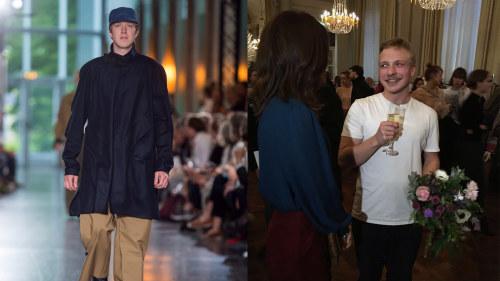 Axel Enqvist vann tävling för unga lovande kläddesigner i Köpenhamn ... aa7ee261ea293