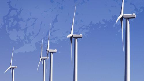Varning for vindkraftverk