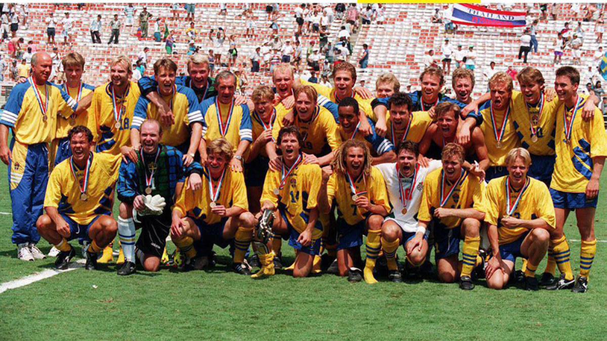 Svenskarna verkar ha förträngt att Bulgarien också fick VM-brons 1994 – Thomas Ravelli togs på sängen av ...