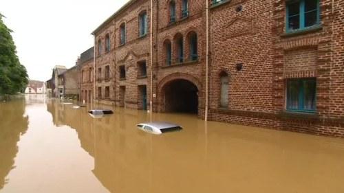 Samre dricksvatten av oversvamningar