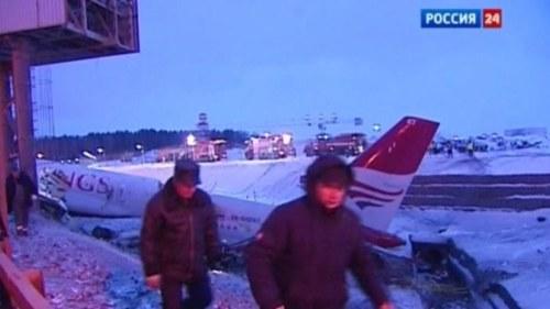 Svensk i flygolycka i finland