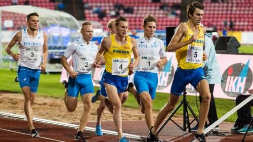 Snoplig svensk stafett