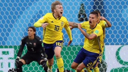 Svenskt par i vm kvartsfinal