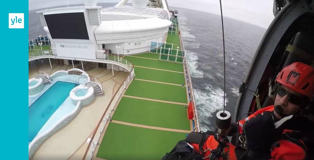 En finländare med på det coronasmittade kryssningsfartyget Grand Princess