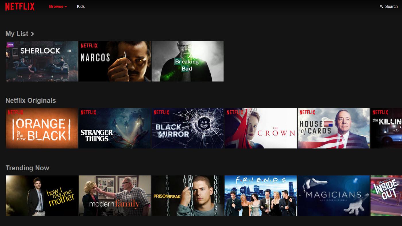 Netflix månadsavgift