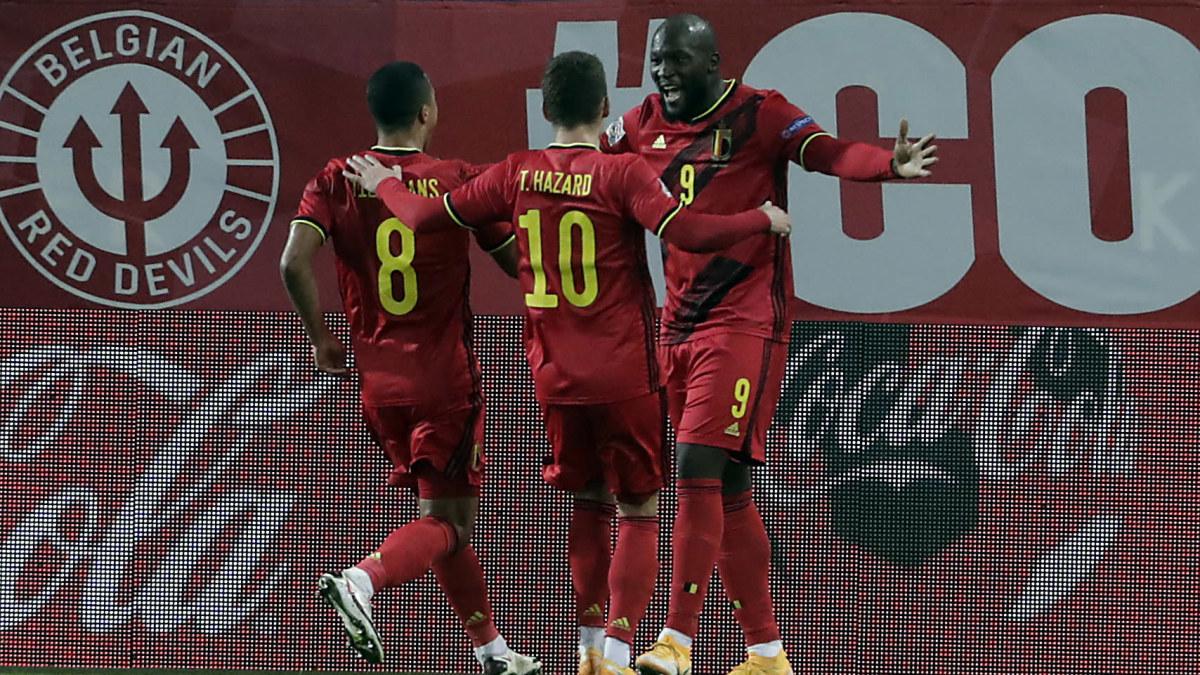Italien och Belgien gör Frankrike och Spanien sällskap i finalturneringen i Nations League