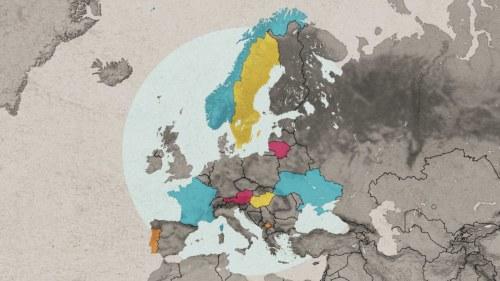Deurbel Sonnette Db200.Europa Karta Att Fylla I