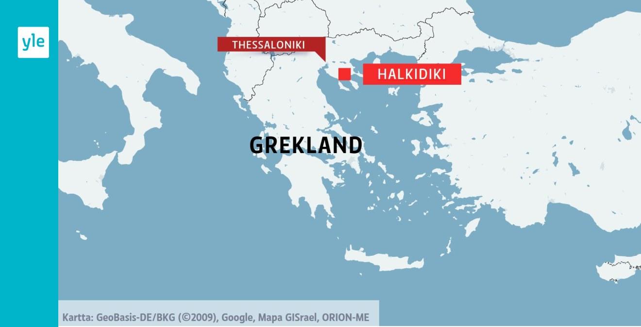 Sju Turister Omkom I Valdsamt Ovader I Norra Grekland Videon