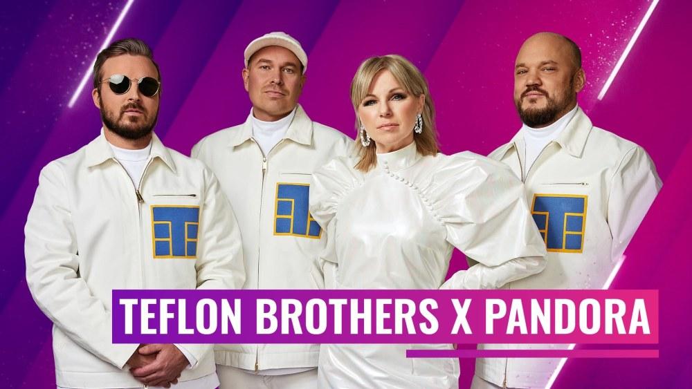 Teflon Brothers x Pandoran biisin julkistupäivä on 15.1.
