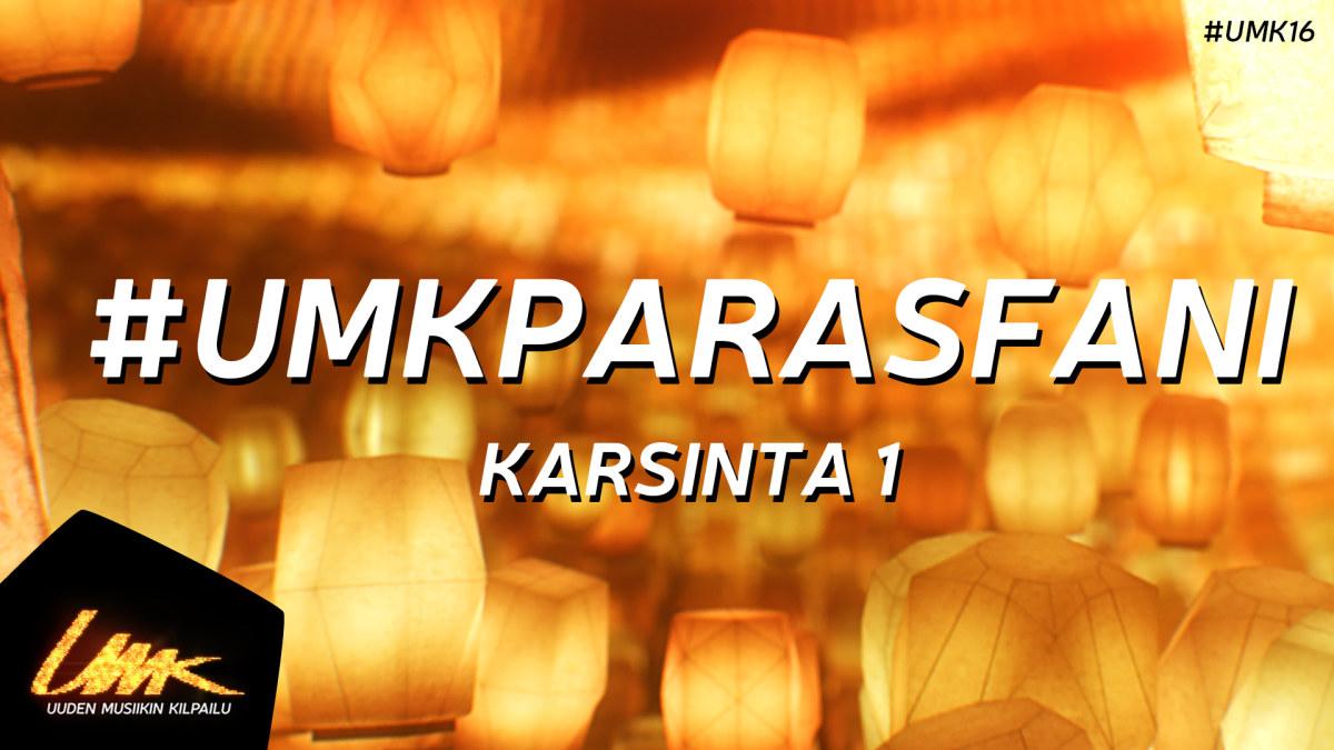 UMK16 // Voita liput 1. Karsintaan   UMK 2016   yle.fi