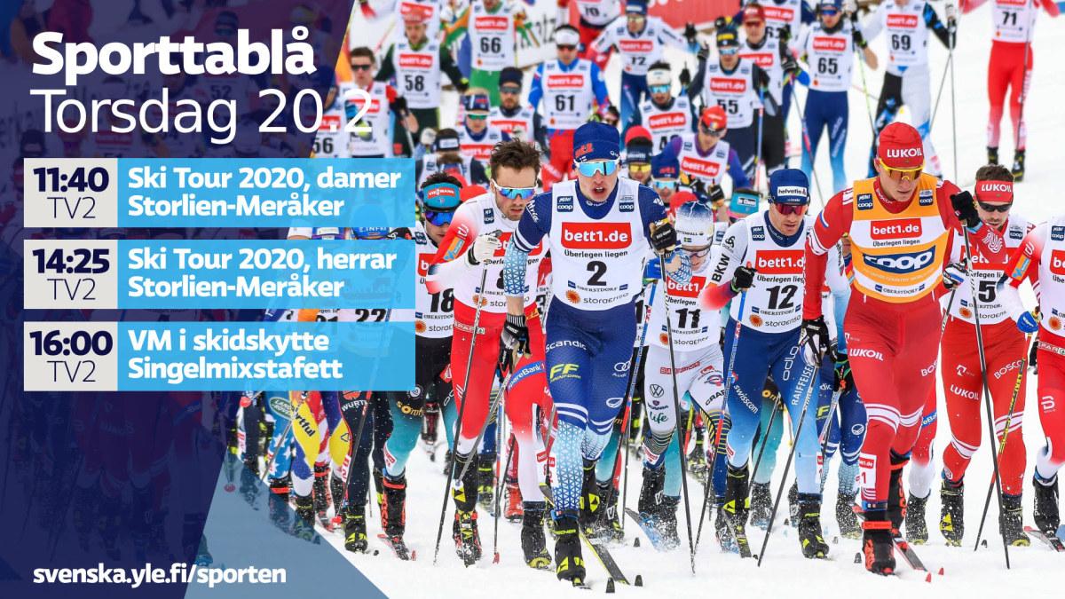 På tv i dag: Ski Tour fortsätter med långlopp – Iivo Niskanen har slagläge