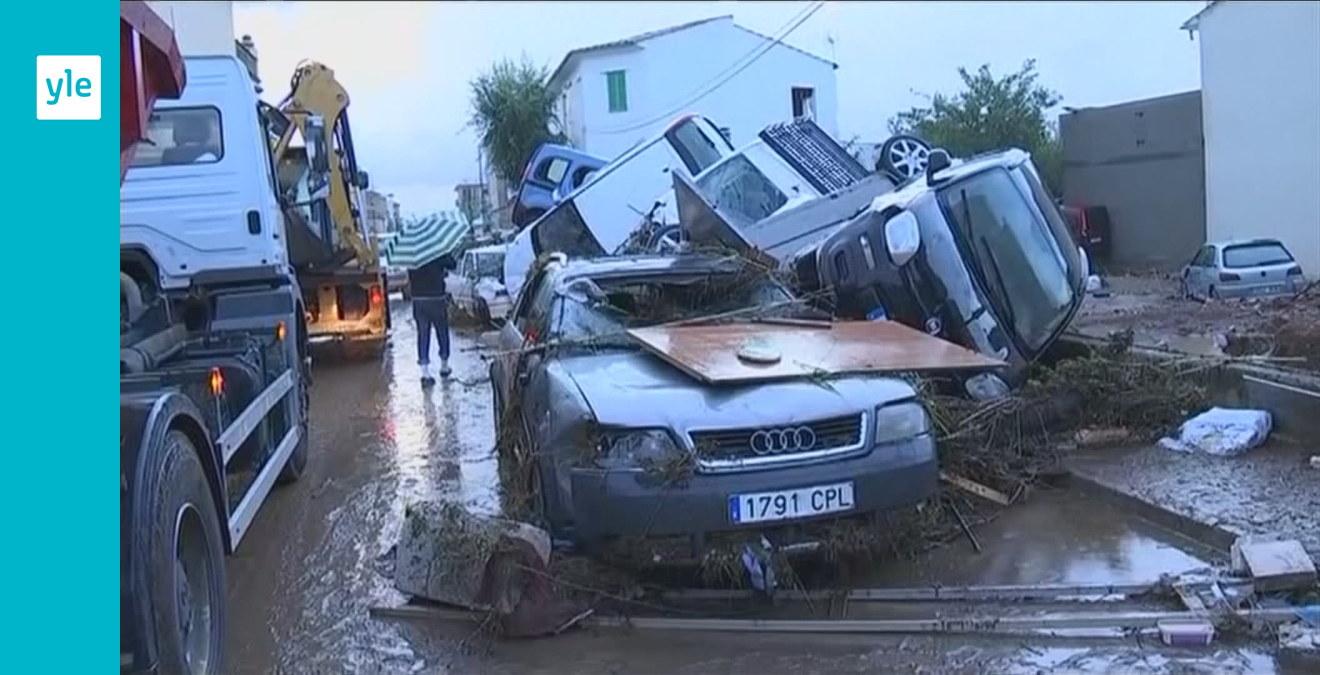 Minst åtta döda efter häftigt oväder på Mallorca  9660824c5d0a1