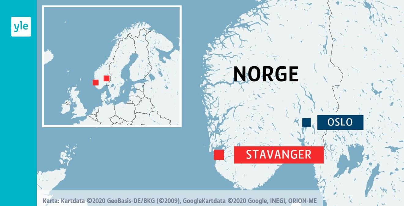 Storbrand I Parkeringshus Vid Flygplats I Norska Stavanger