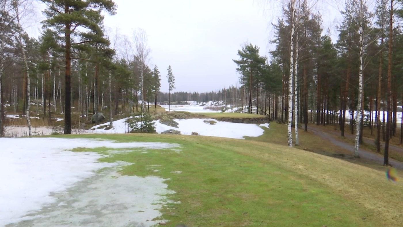 Spela På Konstgräs Snö