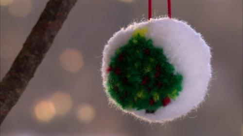 Japansk garnboll med Lees julgransmönster  81f362c6c5750