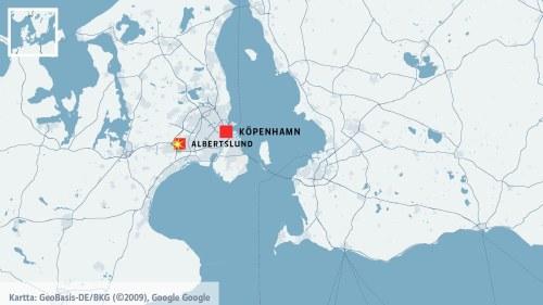 Karta Sodra Danmark.Skottlossning Vid Polisstation I Danmark En Polis Skadad Utrikes