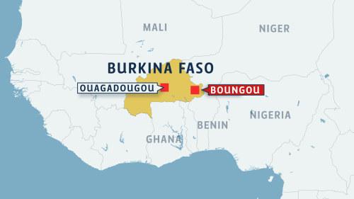 37 Doda I Bakhall Mot Busskonvoj Nara Kanadensisk Gruva I Burkina