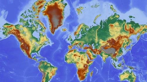 Karta Europa Tidszoner.Varldskartan Forvranger Var Verklighetsuppfattning Samhalle