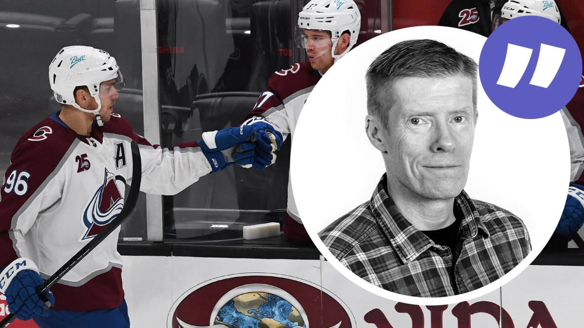 """NHL-kolumnen: Mikko Rantanen kan vinna """"Rocket"""" Richard-priset och Joonas Donskoi är ligans effektivaste spelare ..."""