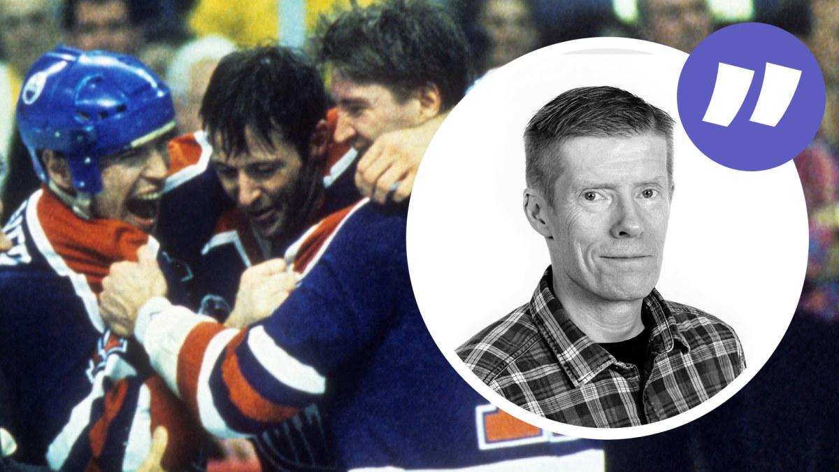 """NHL-kolumnen: 30 år sedan alla tiders mest """"blåvita"""" Stanley Cup-seger – Kurri, Tikkanen och Ruotsalainen i ..."""