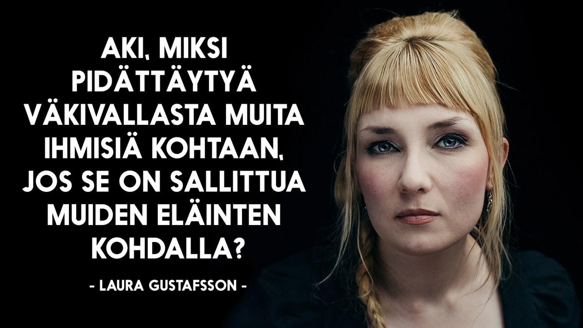 Dear Laura & Dear Aki: Laura Gustafssonin ja A.W. Yrjänän kirjeenvaihto lihansyönnistä | Battle ...