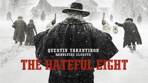 The hateful Eight affisch