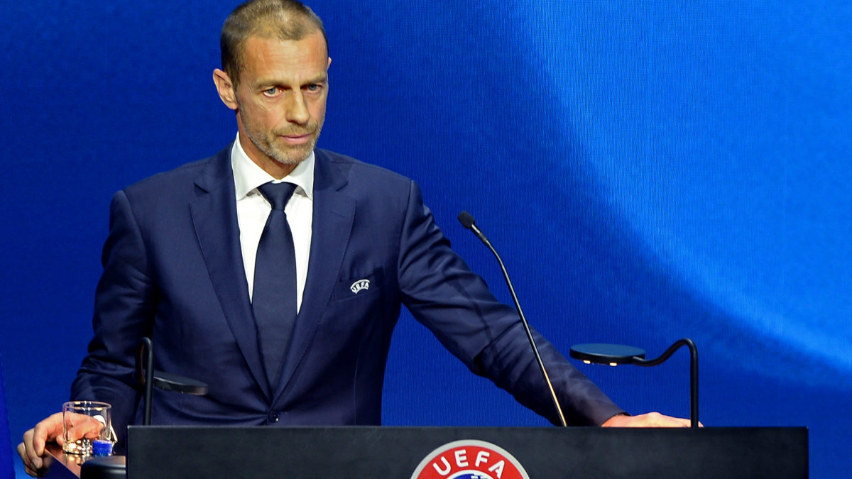 """Uefa-chefen delar in kuppmakarna i tre grupper – en trio får svidande kritik: """"De tror att jorden är platt och att Super ..."""
