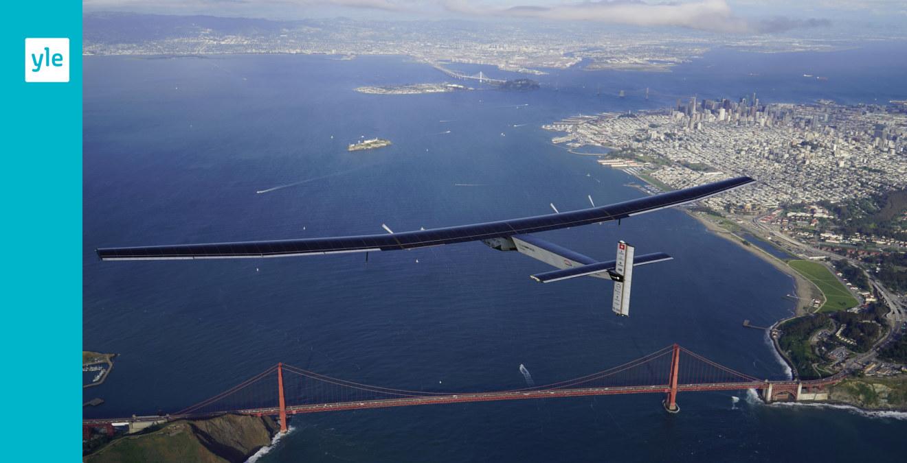 Solenergiplanet avbryter flygningen