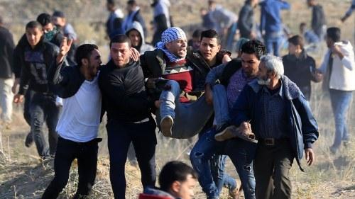 Tva palestinier dodades pa vastbanken