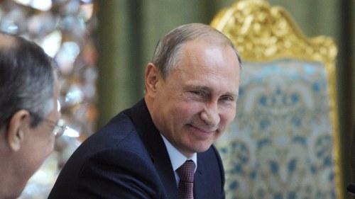 Putin ryssland skickar inte vapen till syrien