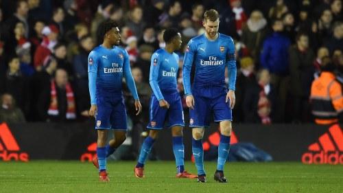 Arsenal stod emot annu en skrall